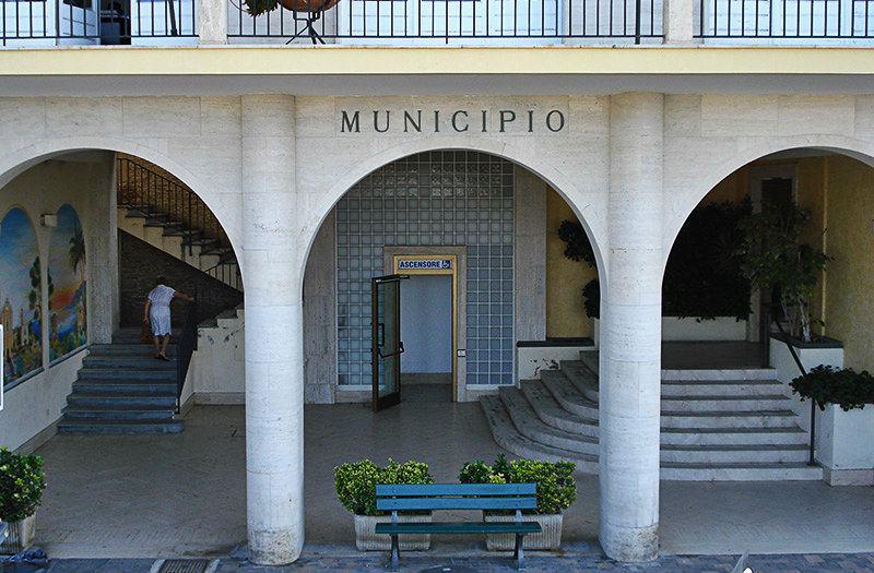 Il Municipio in Ospedaletti