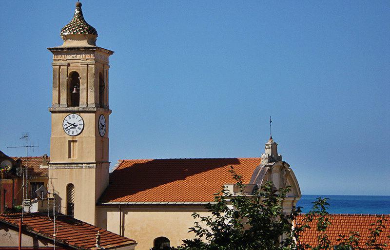 View of Chiesa di San Giovanni Battista in Ospedaletti