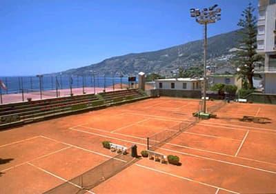 Tennis court in Ospedaletti, Liguria