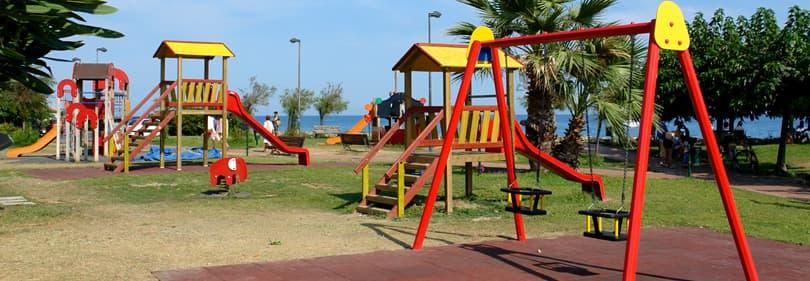 Playground in Liguria