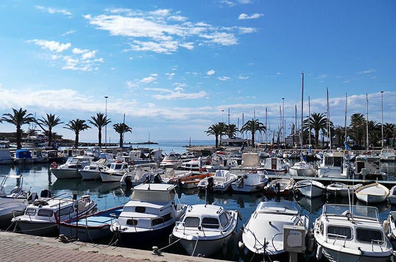 A beautiful port of Arma di Taggia