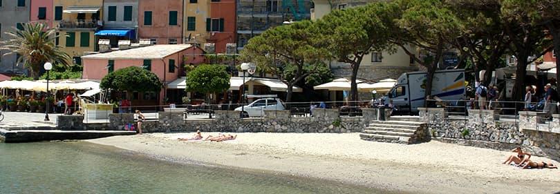 Beach in Portovenere, Liguria