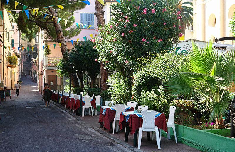 A beautiful restaurant in the center of Imperia, Porto Maurizio