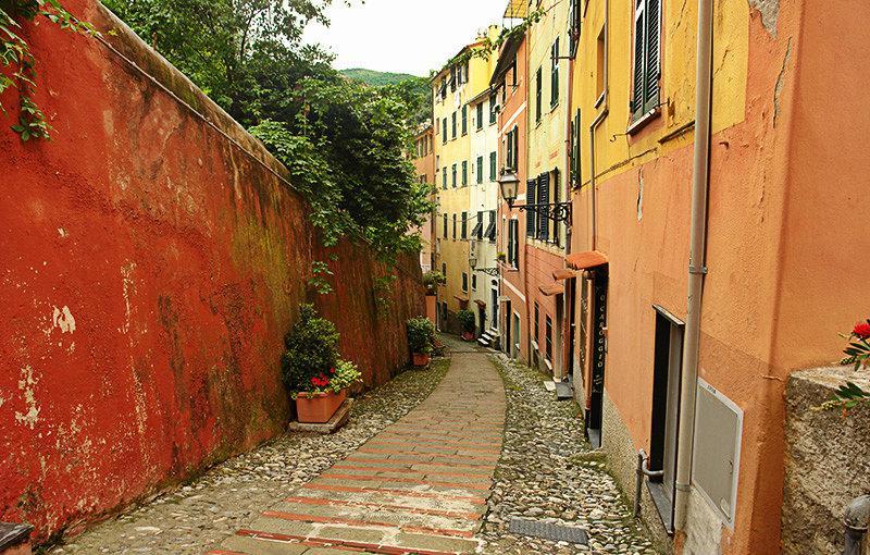 A romantic street of Sori