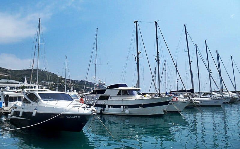 A beautiful Port of San Lorenzo al Mare