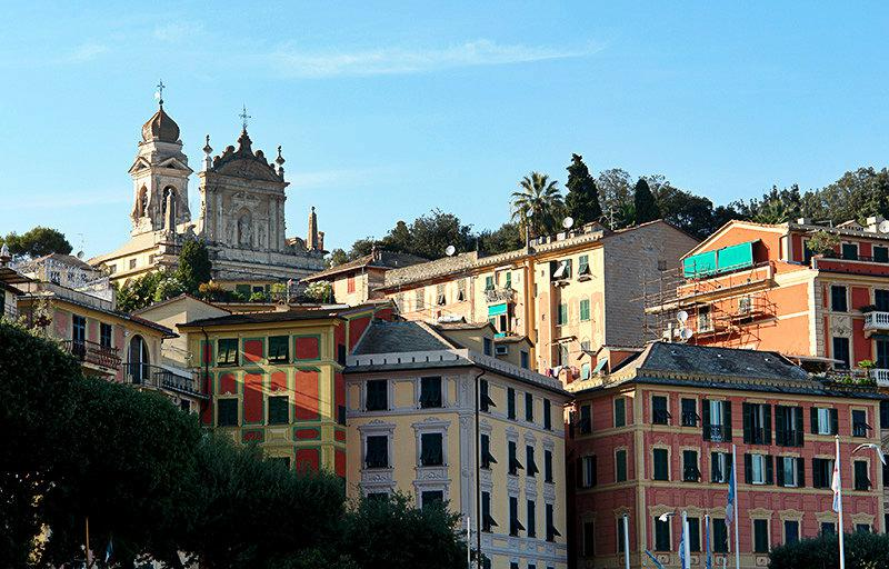 A beautiful view of the holiday destination Santa Margherita Ligure