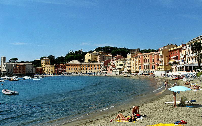 Colorful houses of Sestri Levante