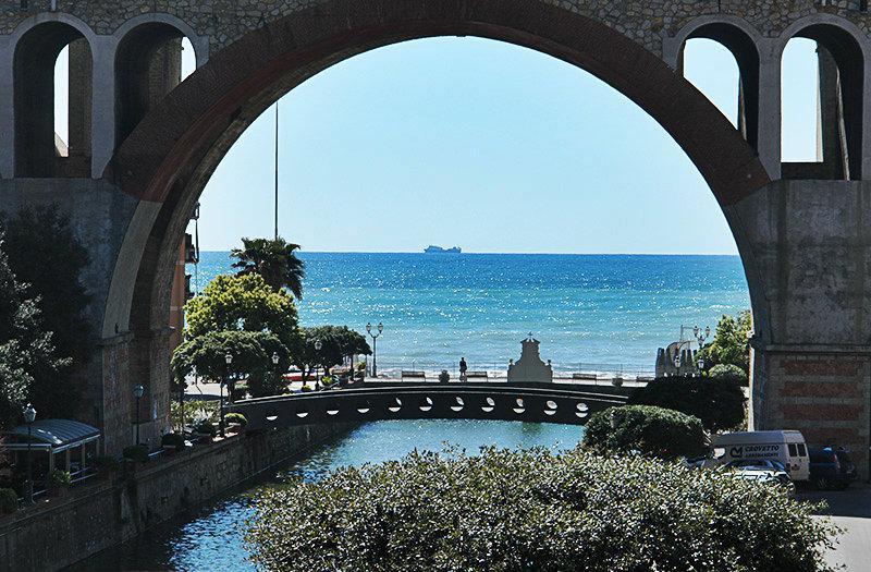 Beautiful view of the sea in Sori