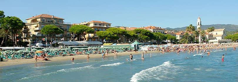 Beachin Diano Marina, Liguria