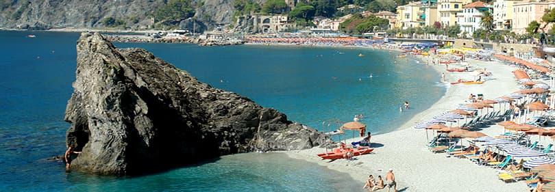 Beach in the province of La Spezia, Liguria