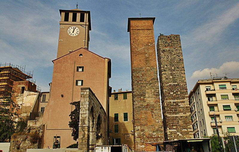 Torre Bindale in Savona, Liguria