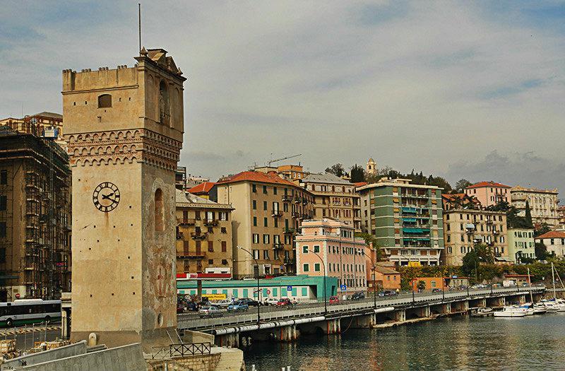 Torre Leon Pancaldo in Savona, Liguria