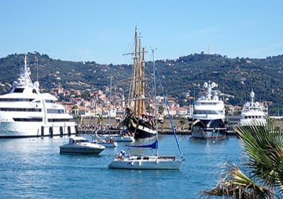 Boats in Porto Maurizio (Imperia) Port