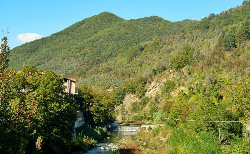 Diverse nature in Vessalico