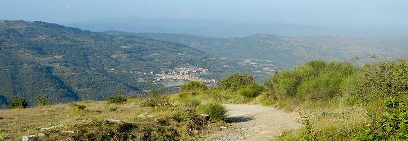 Wonderful nature of Liguria