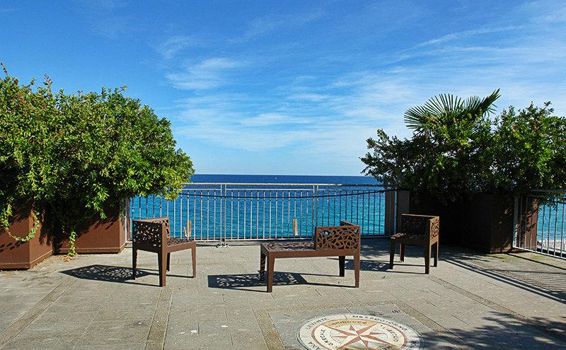 Breathtaking view of Bergeggi in Liguria