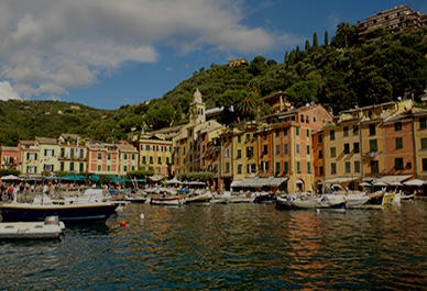 Picturesque port of Portofino